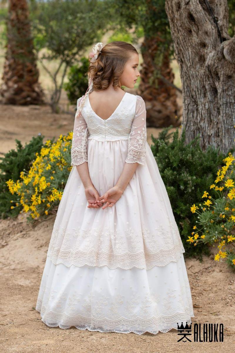 De Moda Infantil 100Española Vestidos 2019Alhuka Comunion 3Rq54AjL